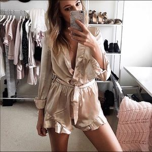 Satin Playsuit ✨ By Maccs the Label